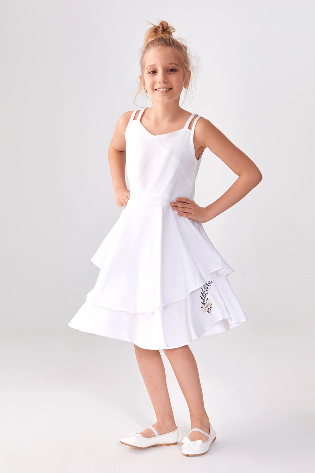 Duru Beyaz Elbise