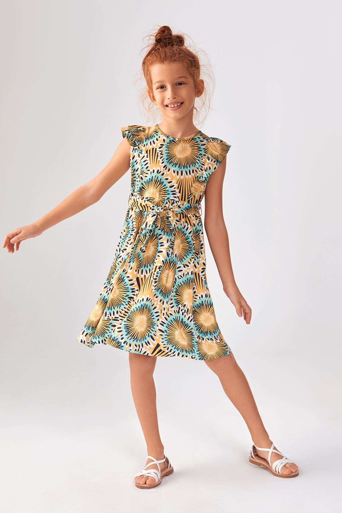 Bono Kız Çocuk Elbise