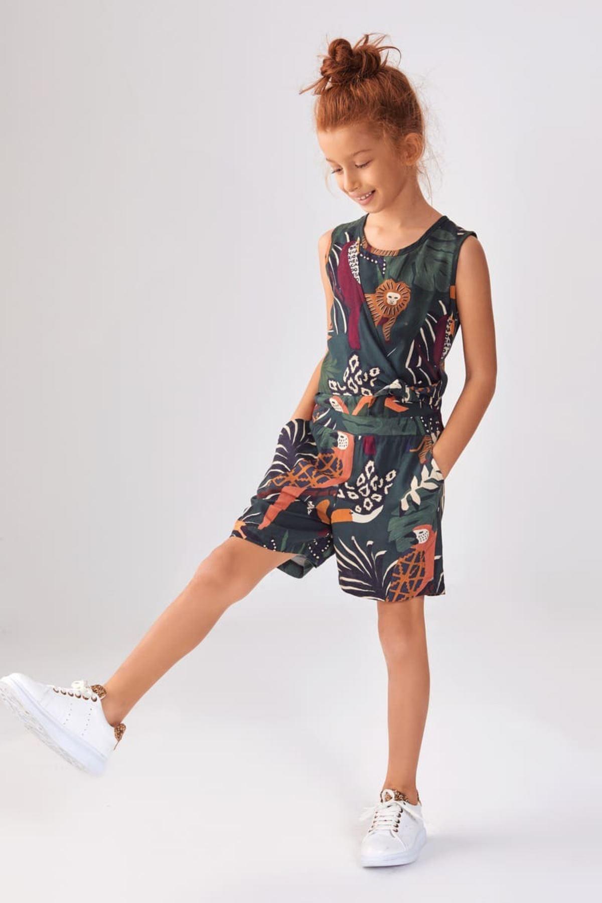 Amazon Kız Çocuk Tulum