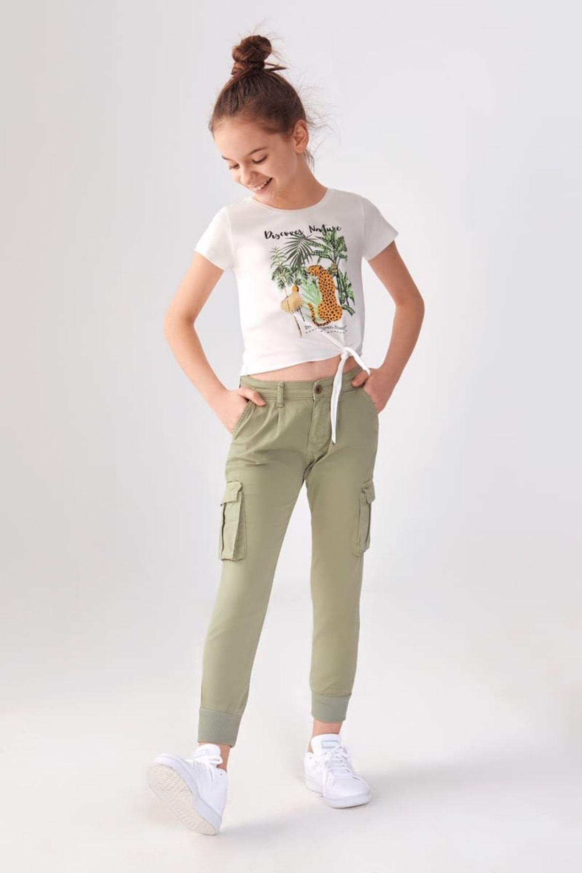 Leo T-shirt ve Kargo Cep Pantolon