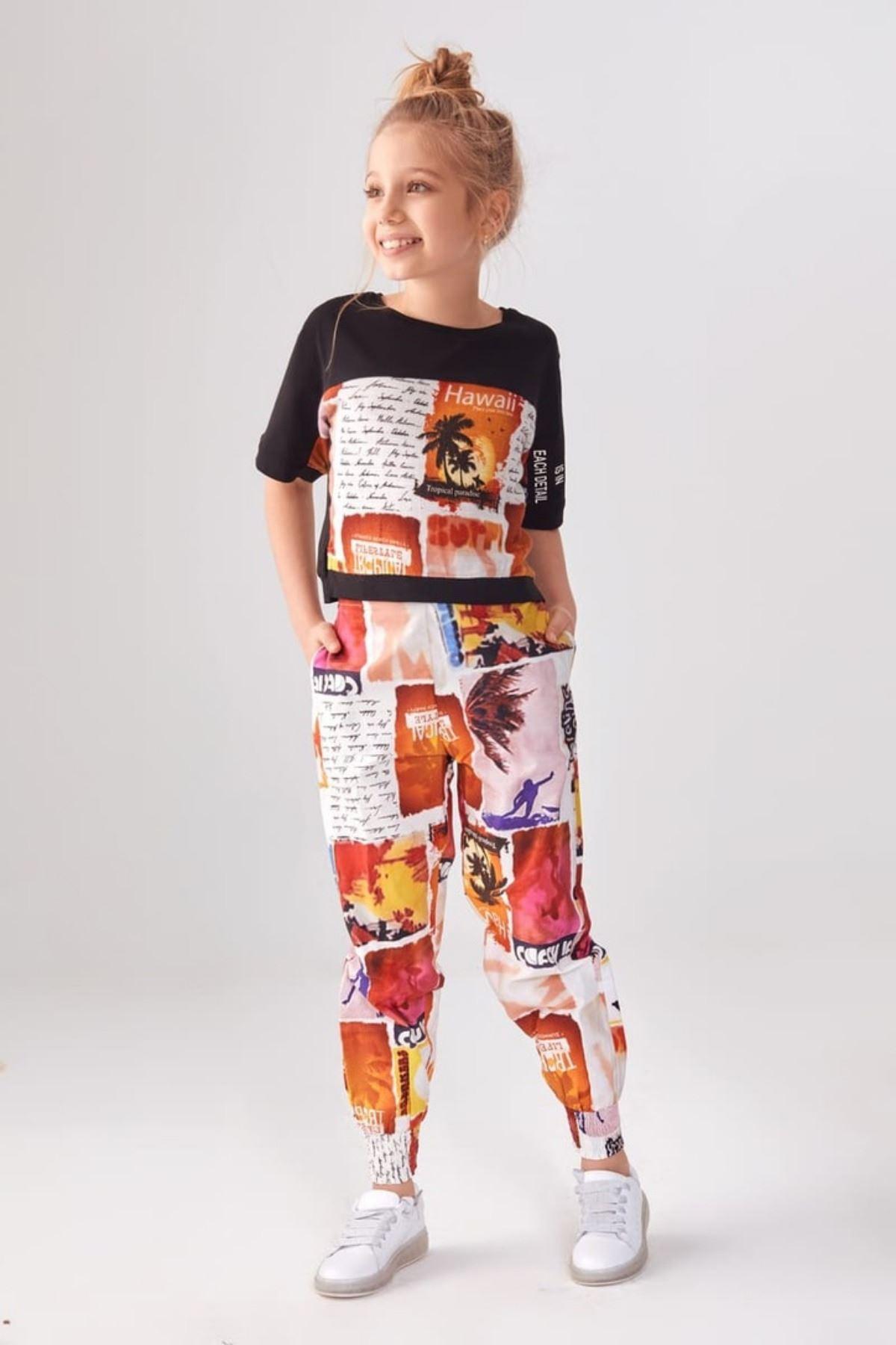 Miami Desen Kız Çocuk Takım
