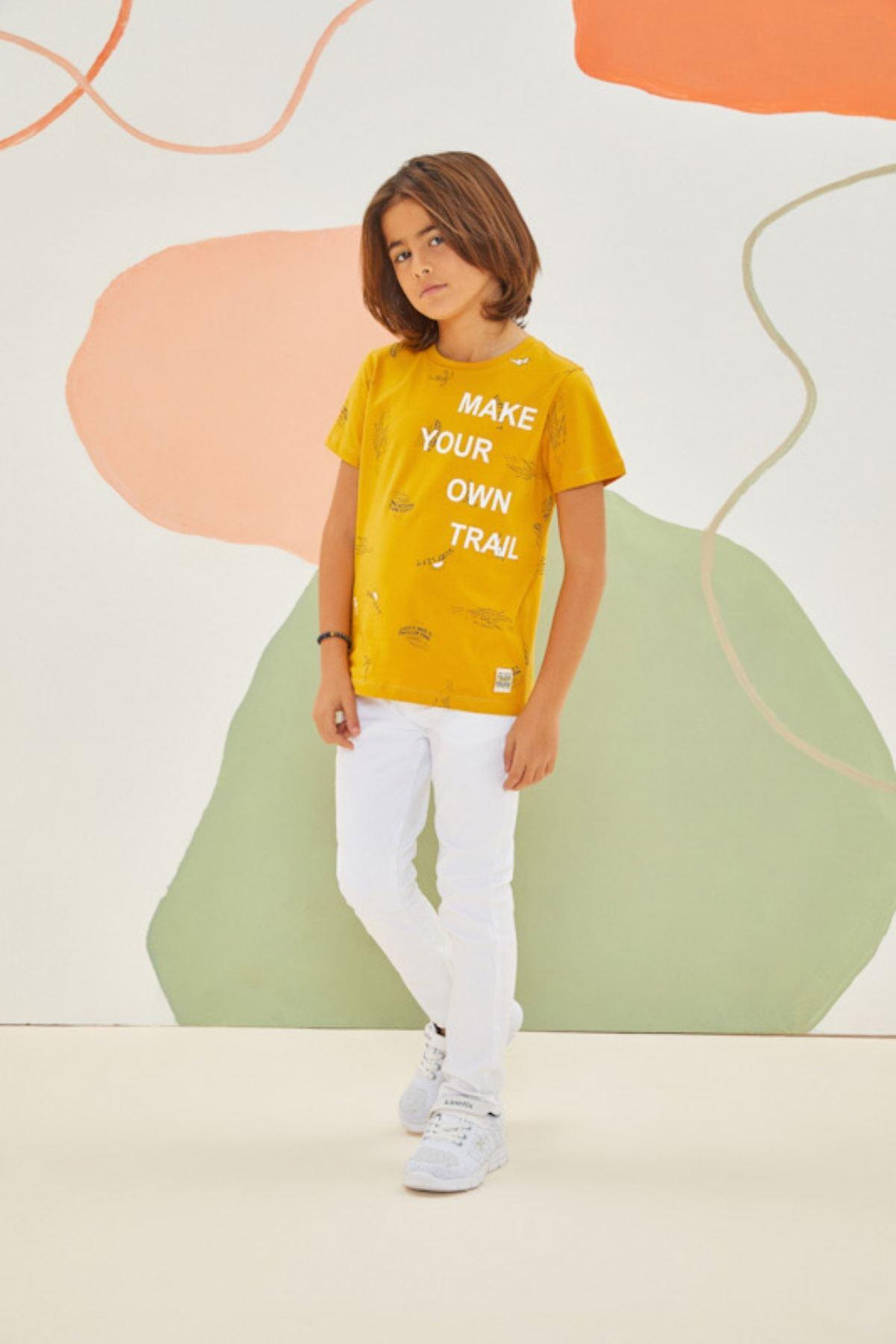 Trail Sarı Erkek Çocuk Takım