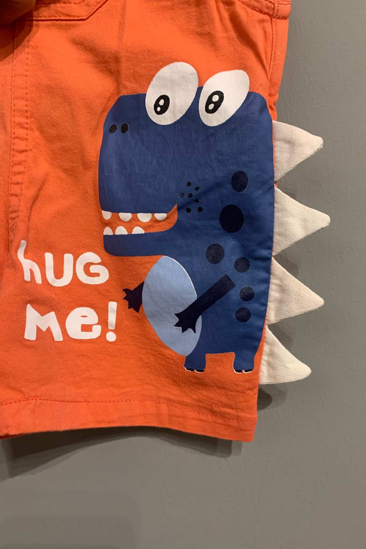 Hug Me Turuncu Salopet Takım