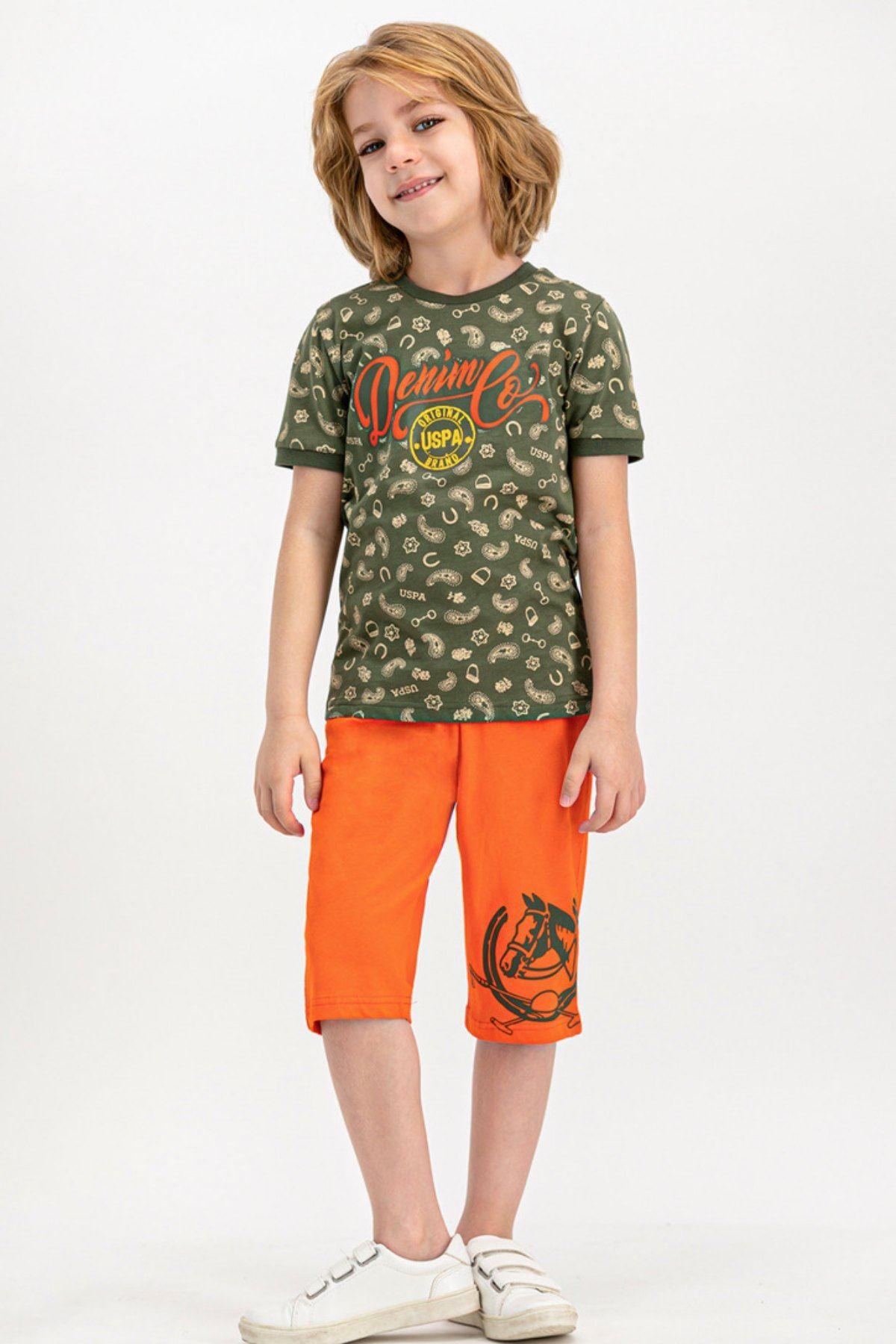 9-15 Yaş Us Polo ASSN Lisanslı Brand Laci Erkek Çocuk Takım