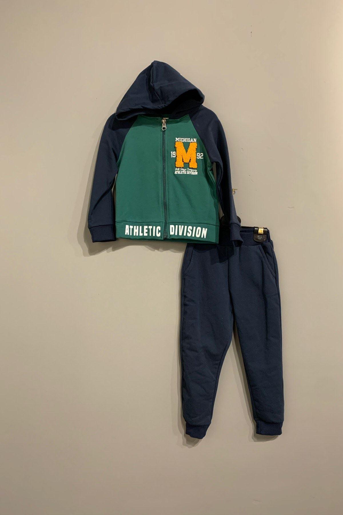 Michigan 2'Li Erkek Çocuk Takım - Yeşil