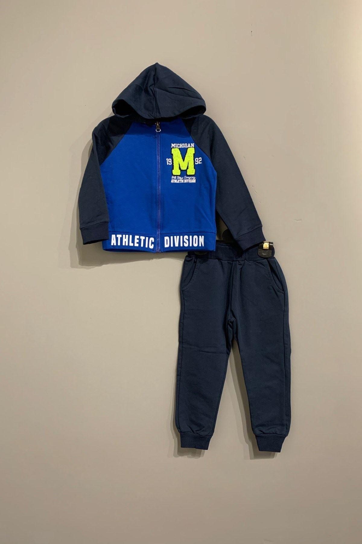 Michigan 2'Li Erkek Çocuk Takım - Mavi