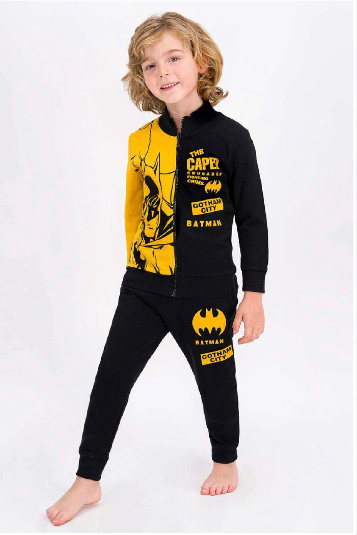 Lisanslı Batman Hırkalı Takım