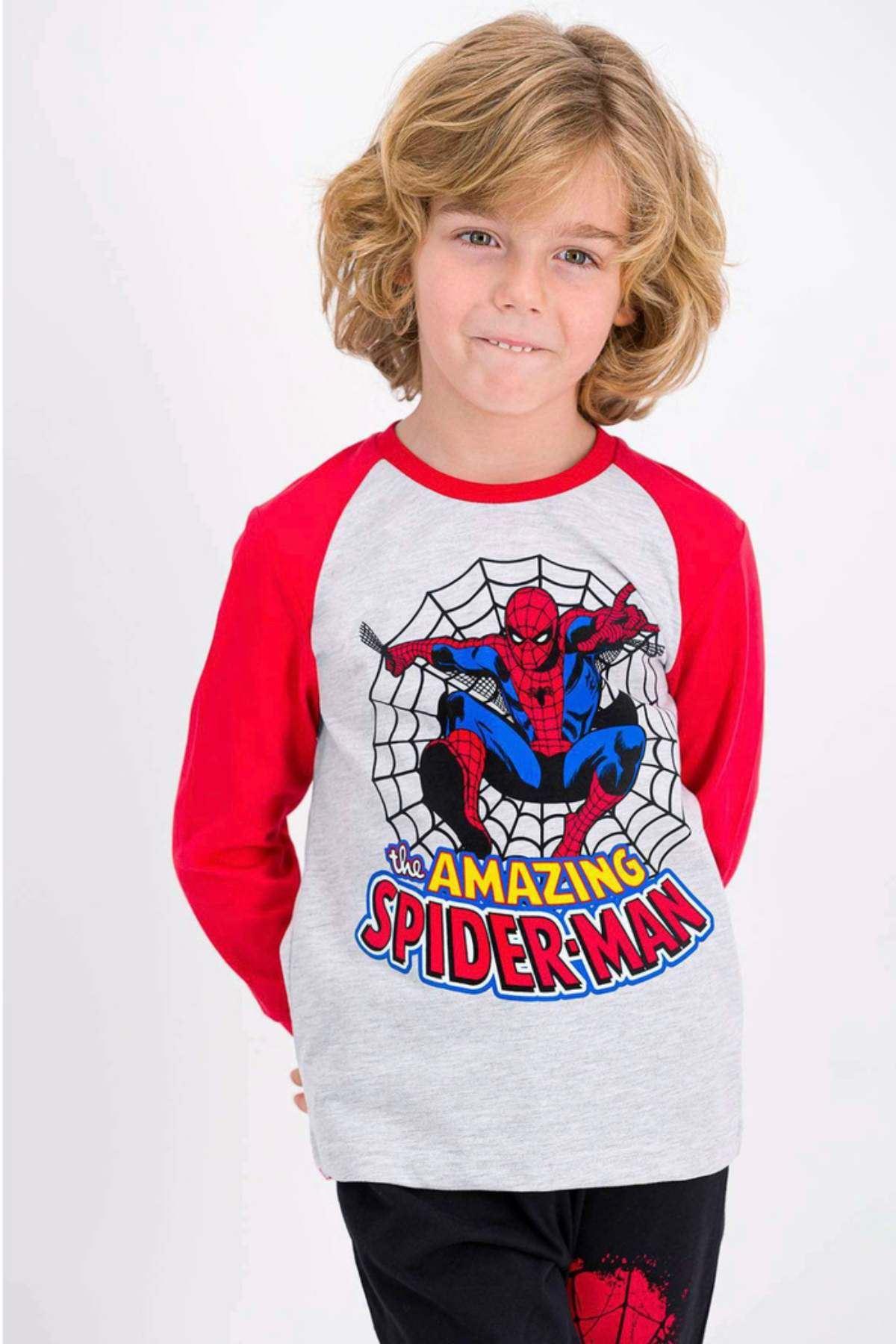 Lisanslı Spiderman Erkek Çocuk Takım