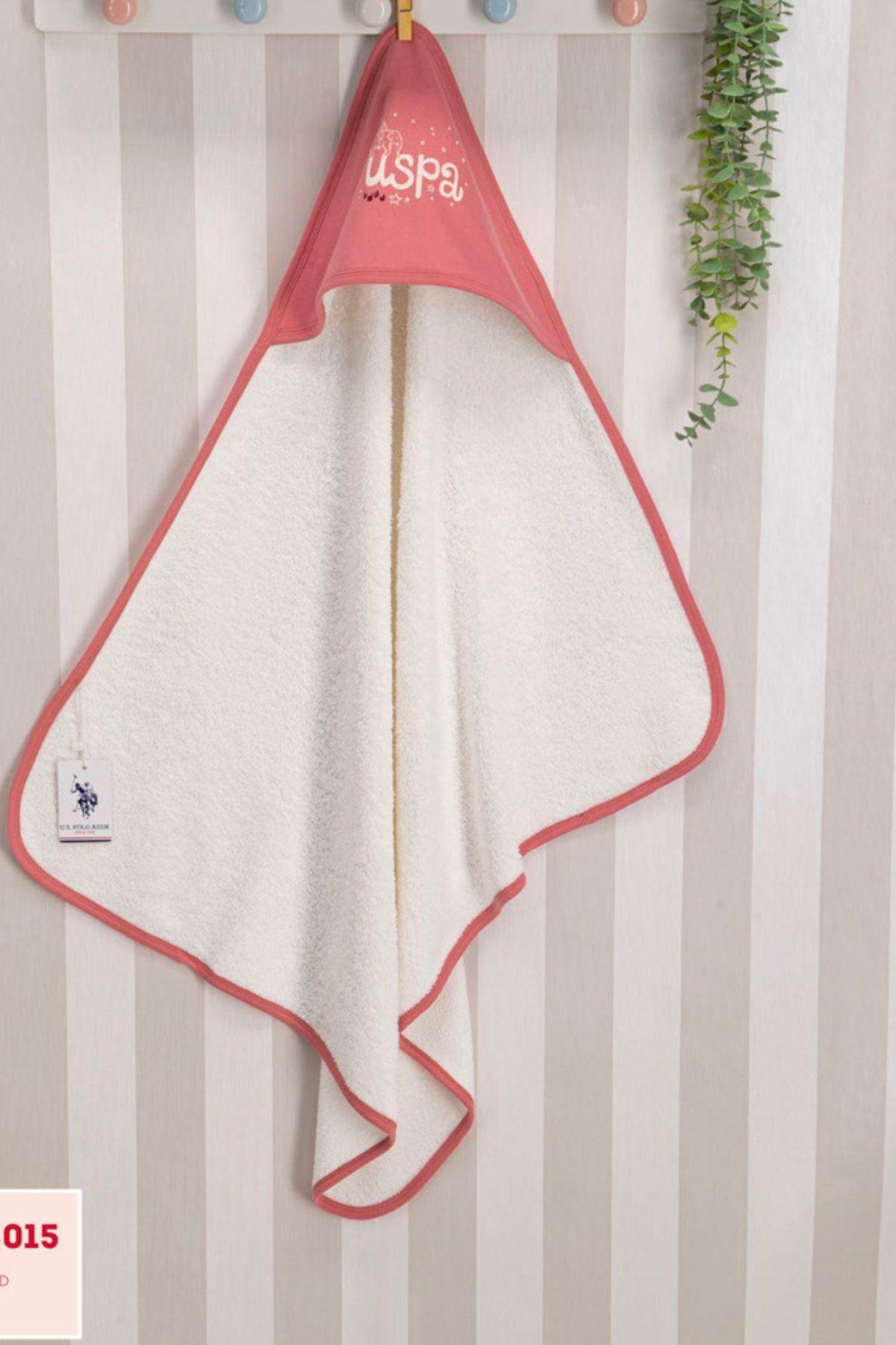 Us Polo ASSN Lisanslı Kız Bebek Havlu