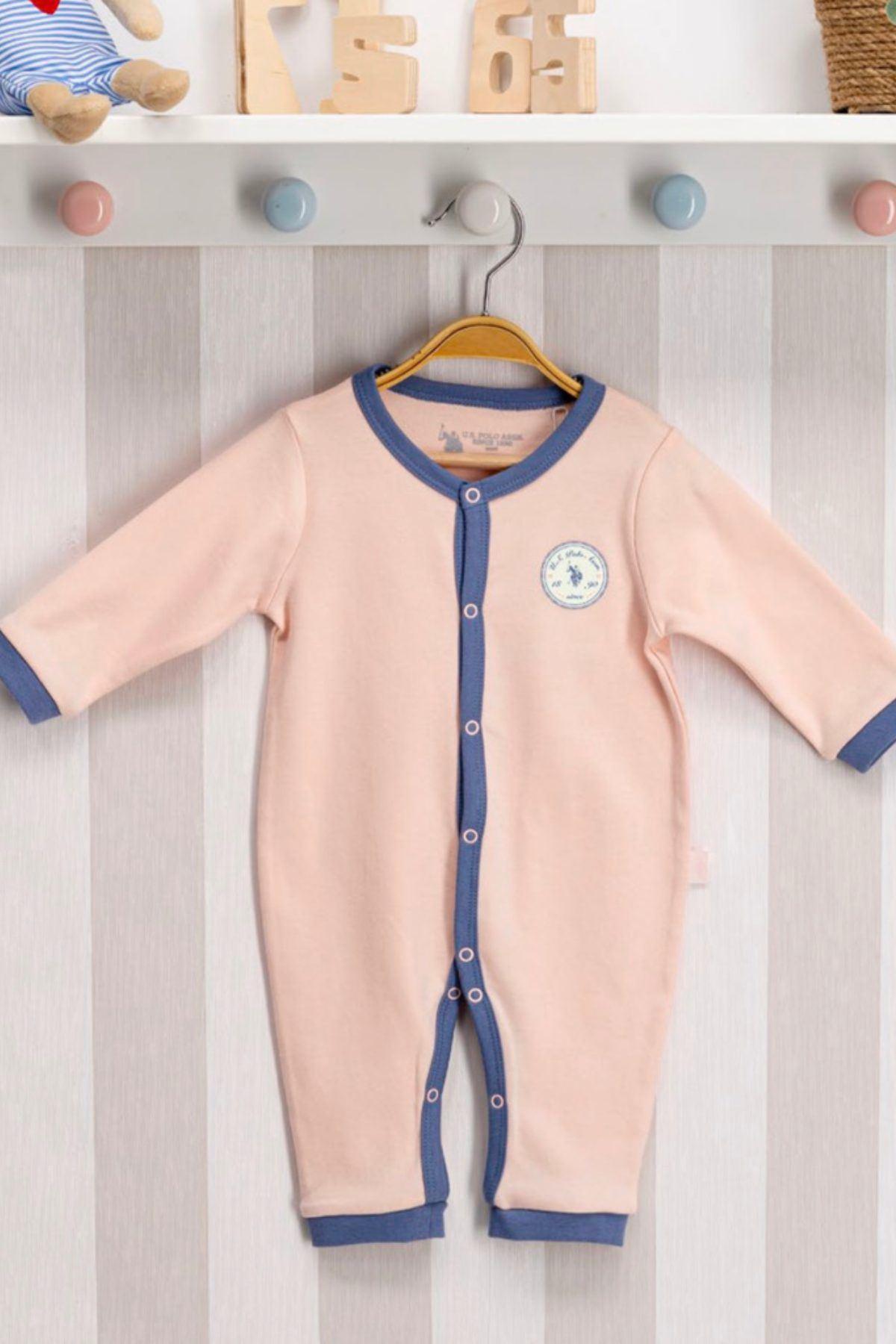 Us Polo ASSN Lisanslı Kız Bebek Tulum