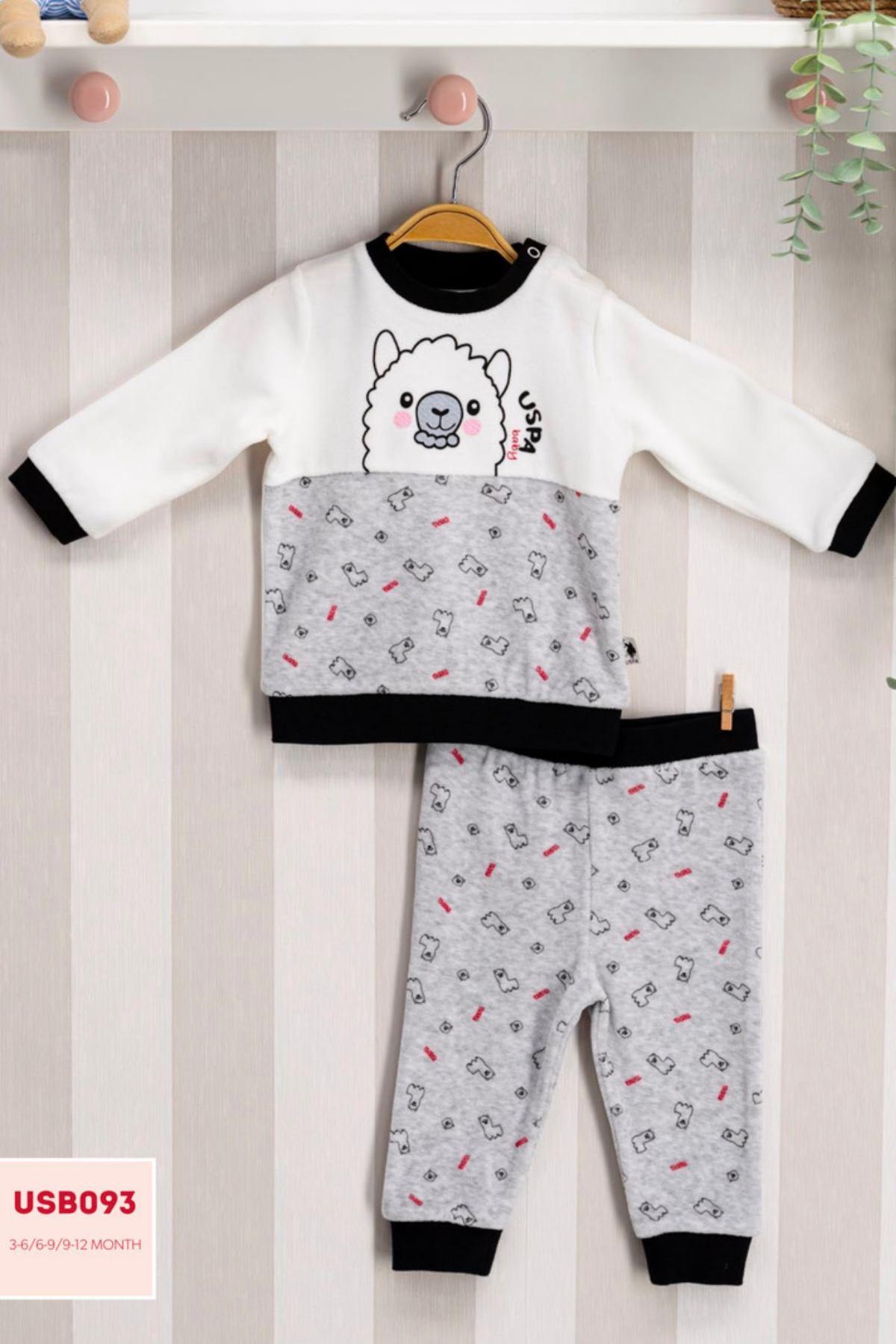Us Polo ASSN Lisanslı Erkek Bebek Takım