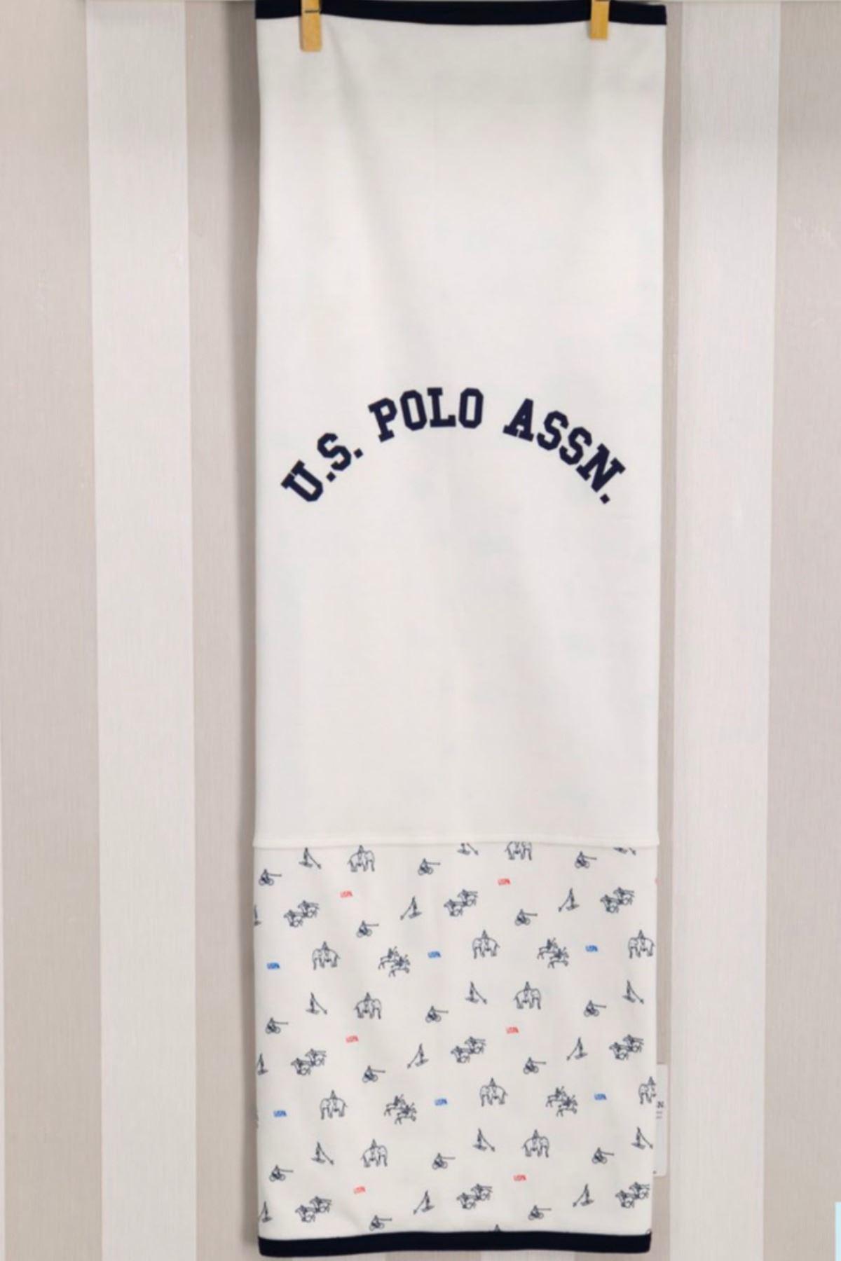 Us Polo ASSN Lisanslı Erkek Battaniye