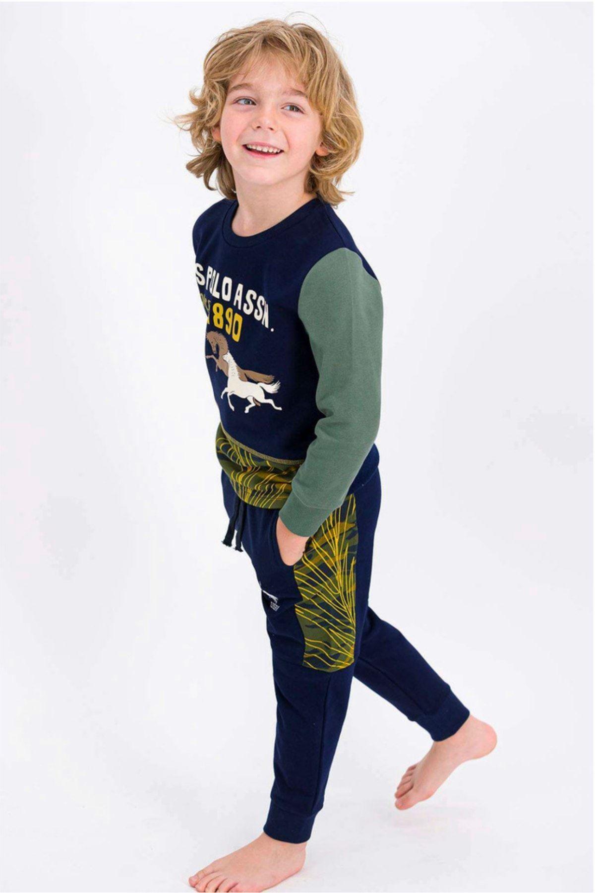 Us Polo Assn Lisanslı Erkek Çocuk Takım