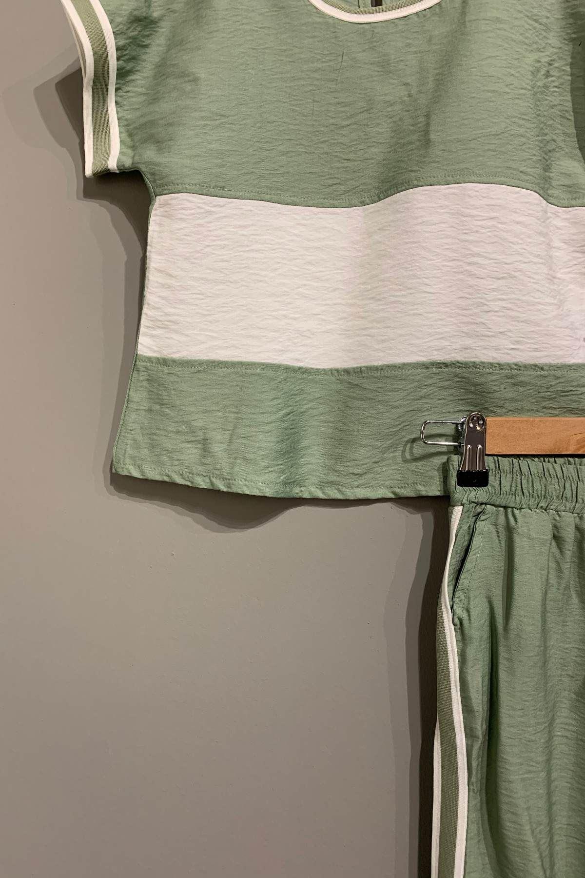 Pop Yeşil Kız Çocuk Takım