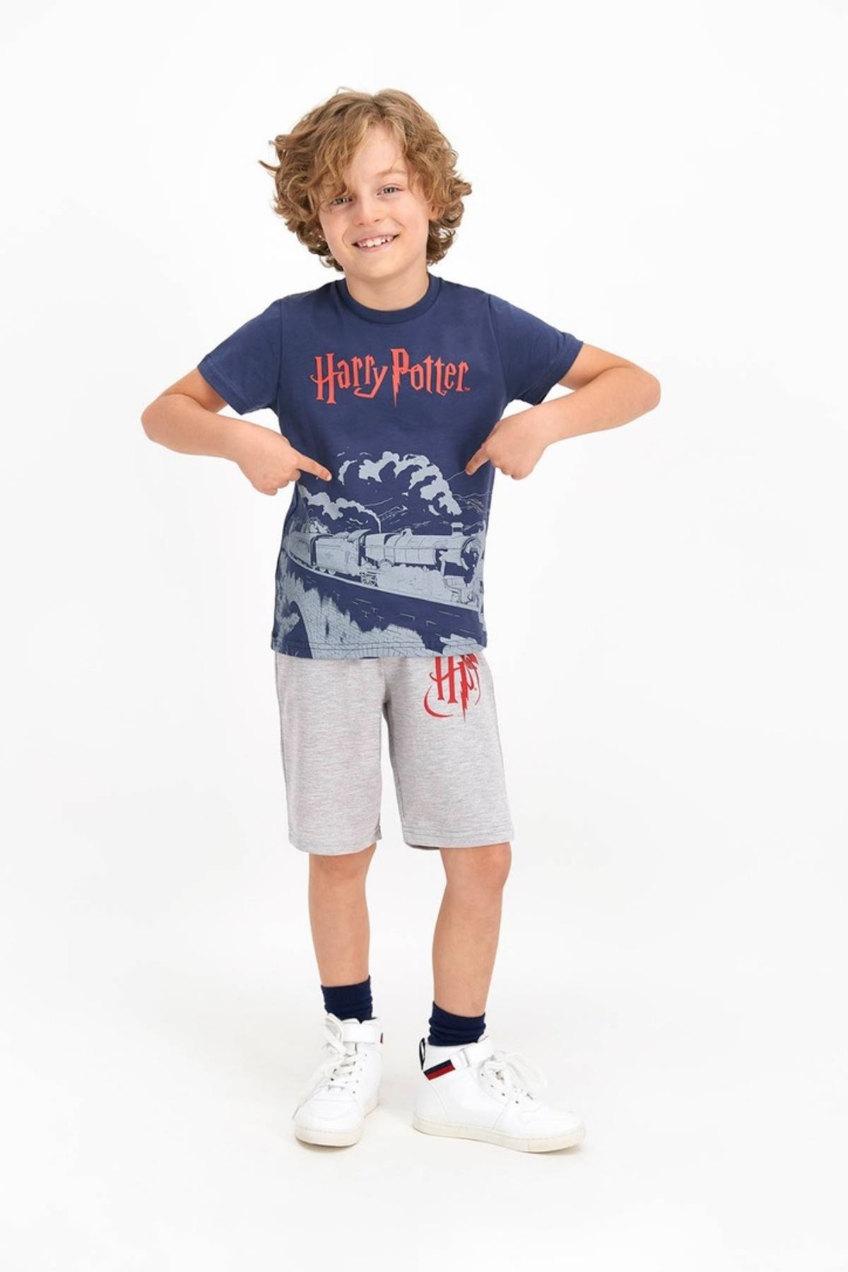 Harry Potter Erkek Kapri Takım - Füme