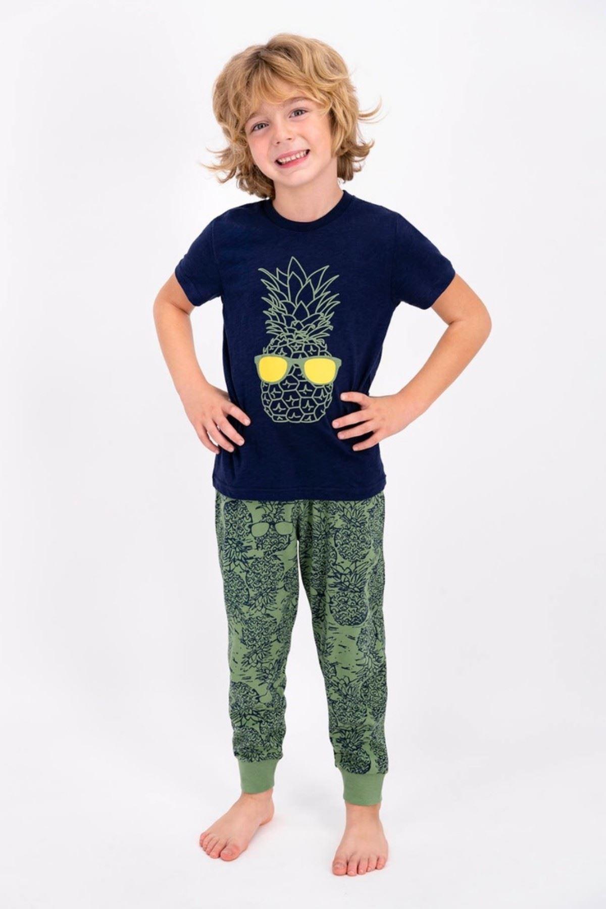 Ananas Figürlü Erkek Çocuk Takım