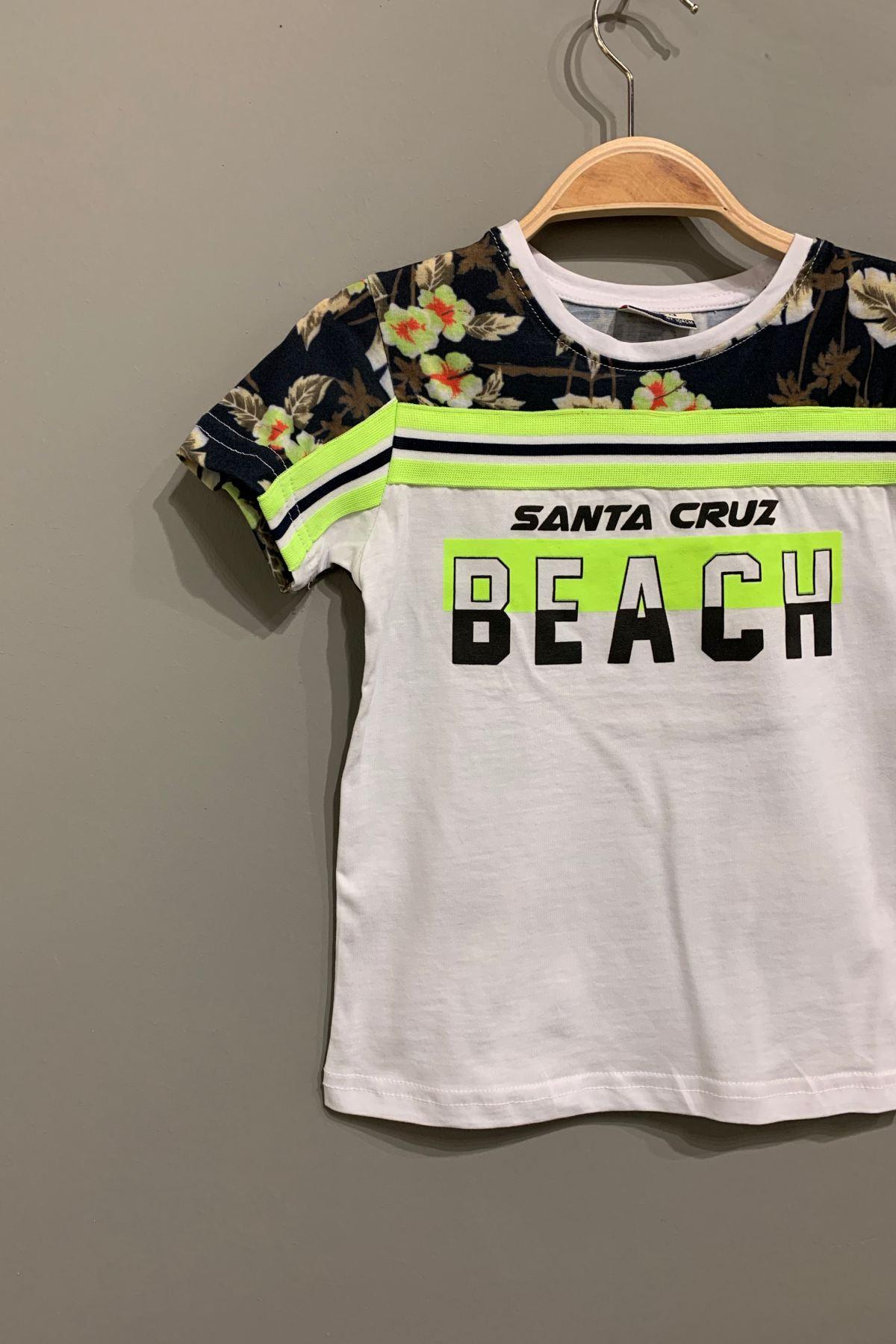 4-8 Yaş Santa Cruz Trend Erkek Çocuk T-shırt