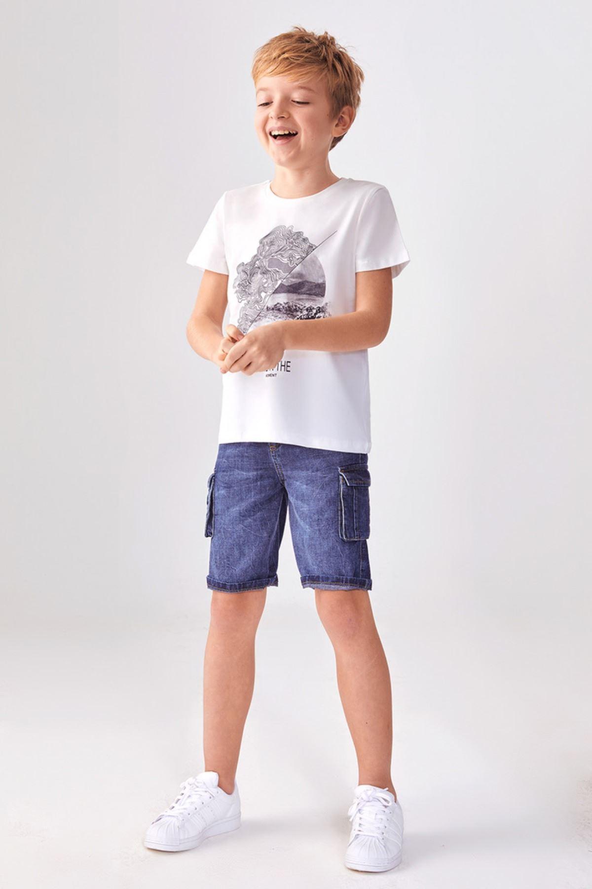 Live Erkek Çocuk T-shirt