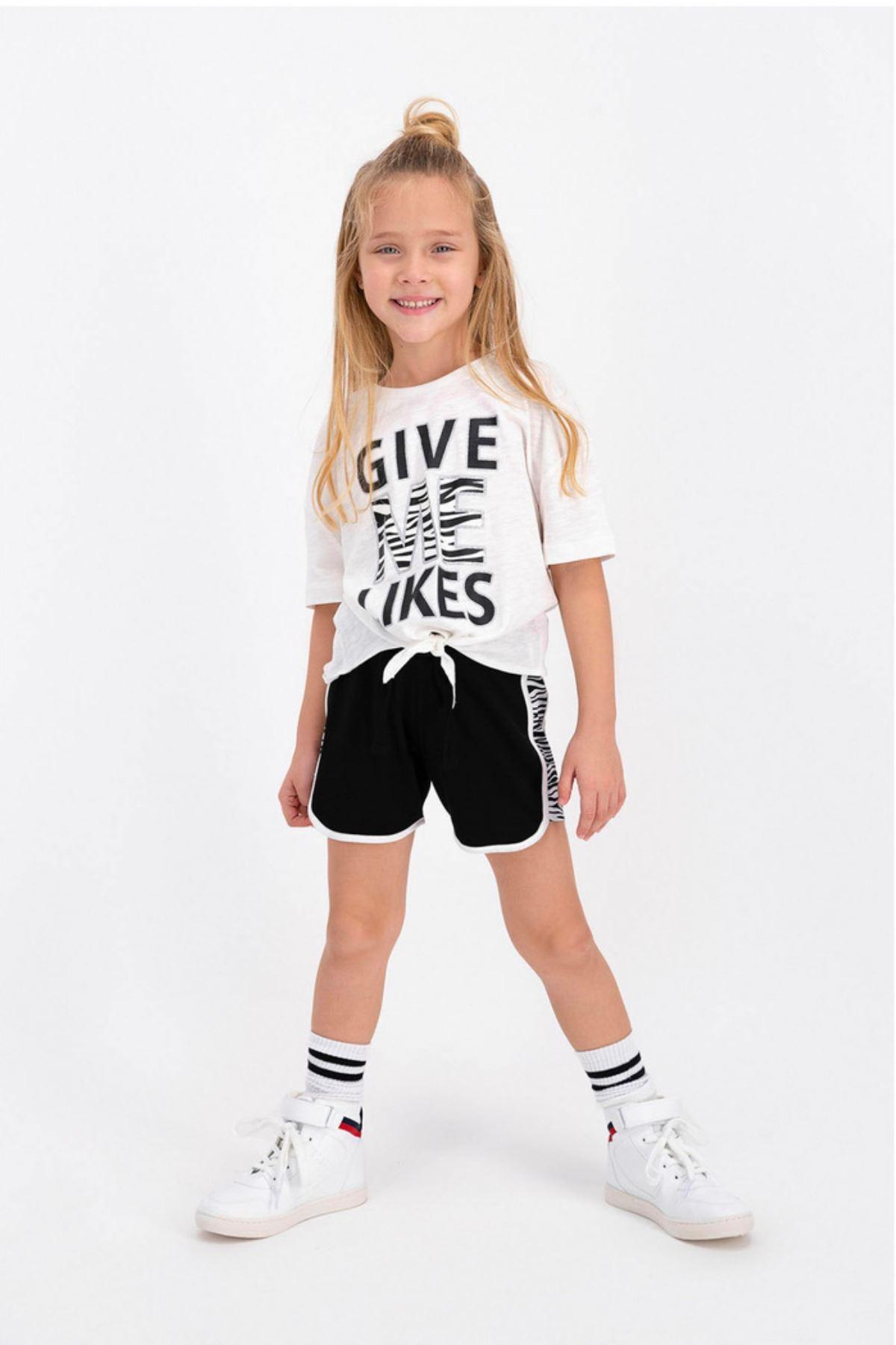Give Me Likes Çocuk Takım - Krem