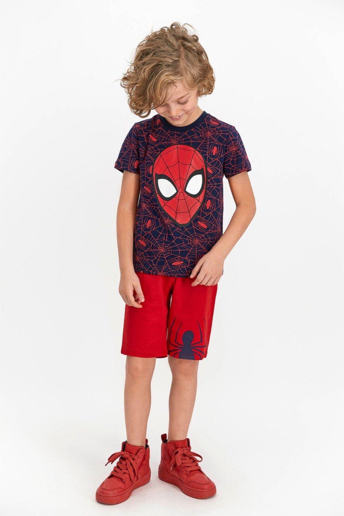 Spider-Man Erkek Kapri Takım -Laci