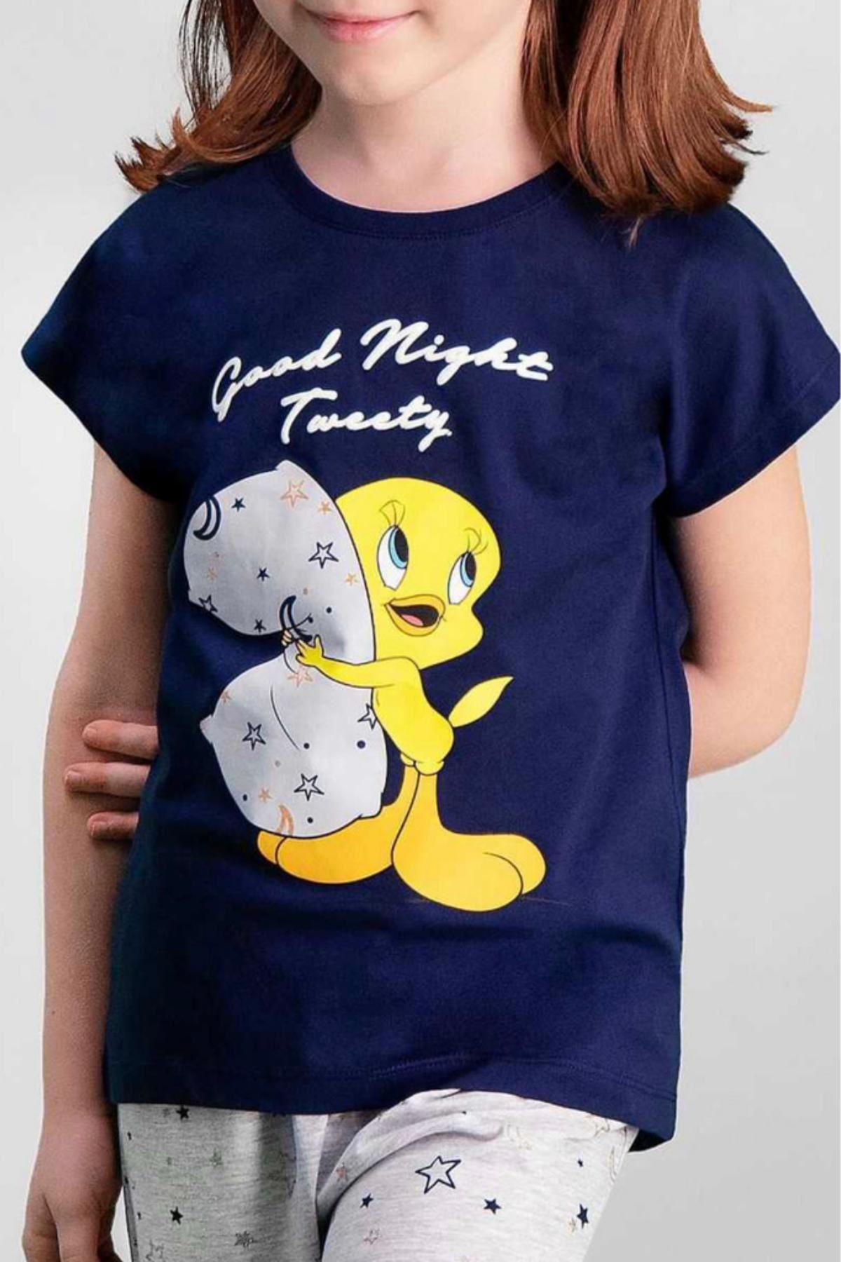 Lisanslı Tweety Pijama Takımı