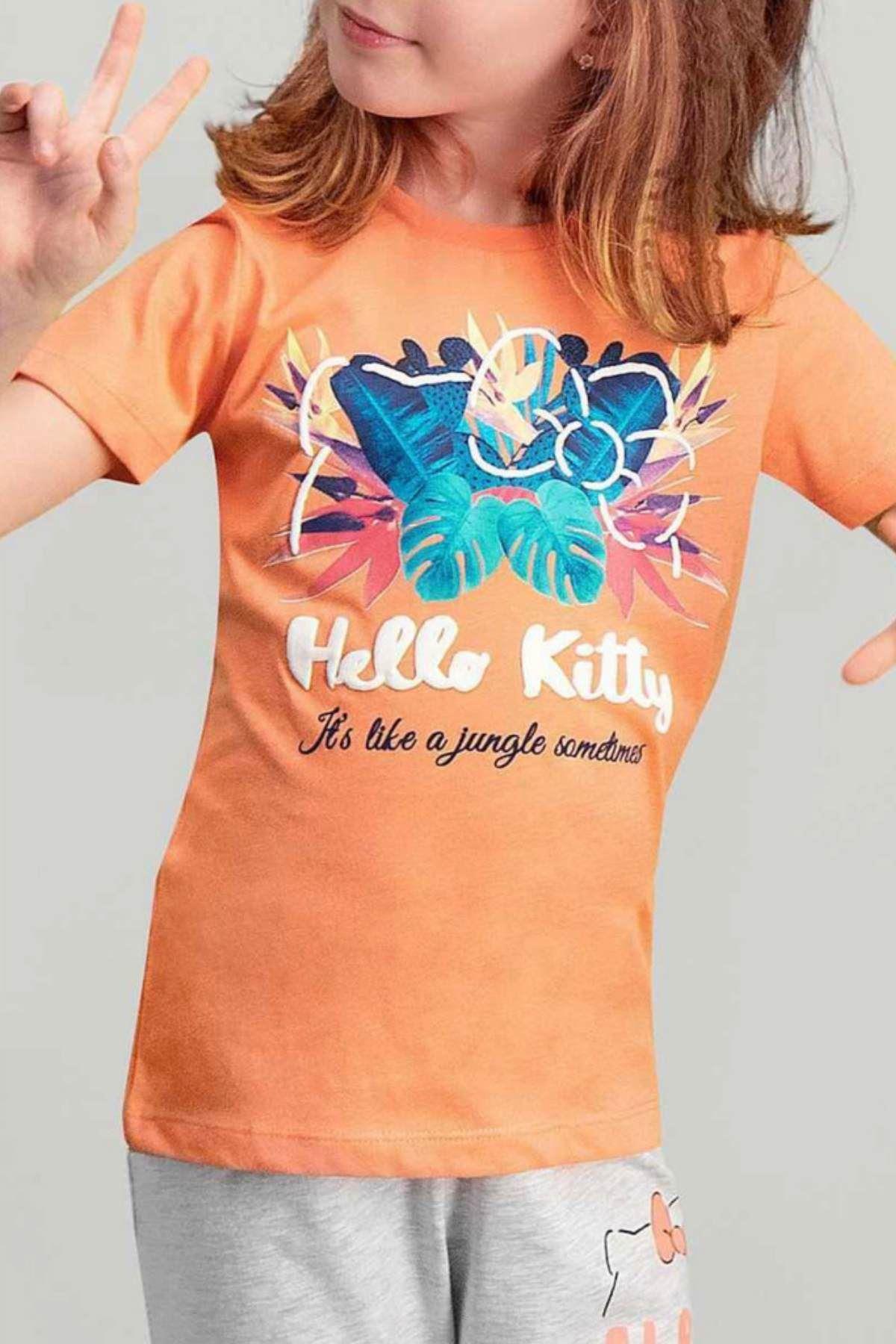 Hello Kitty Kız Pijama Takım