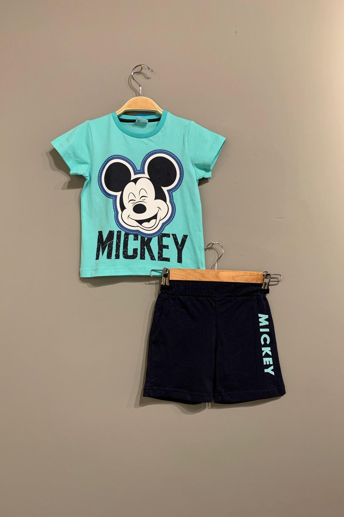 3-7 Yaş Lisanslı Mickey Erkek Çocuk Takım