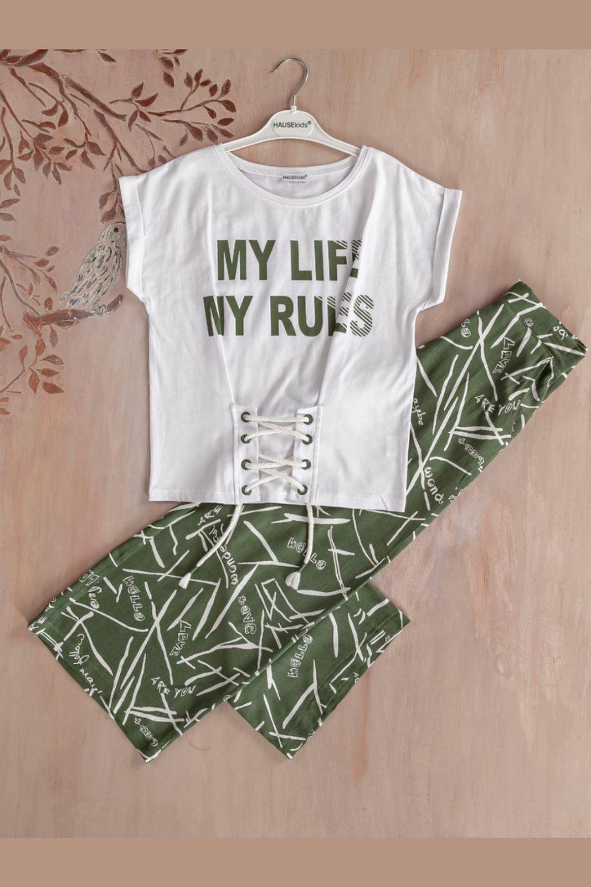 My Life Kız Çocuk Takım - Yeşil
