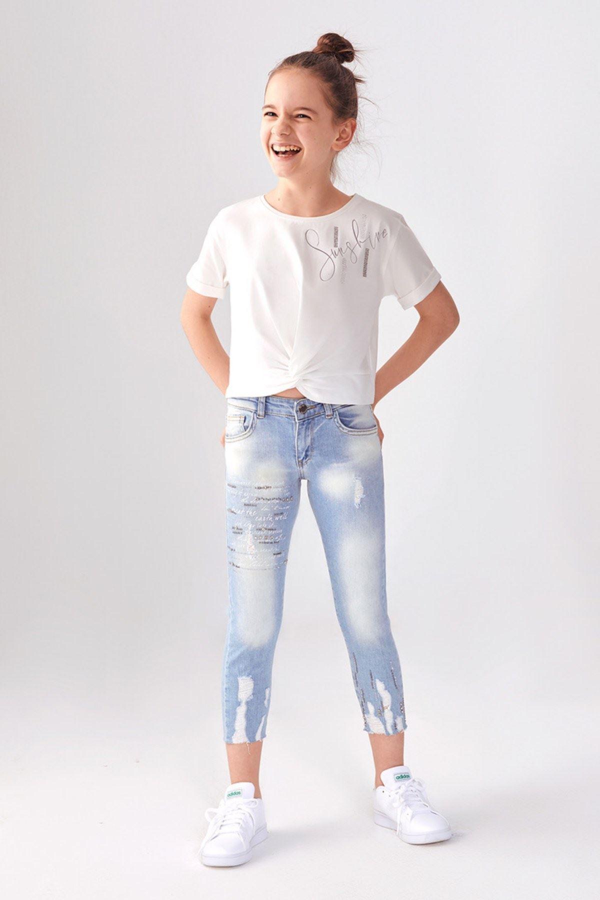 Kız Çocuk Pantolon