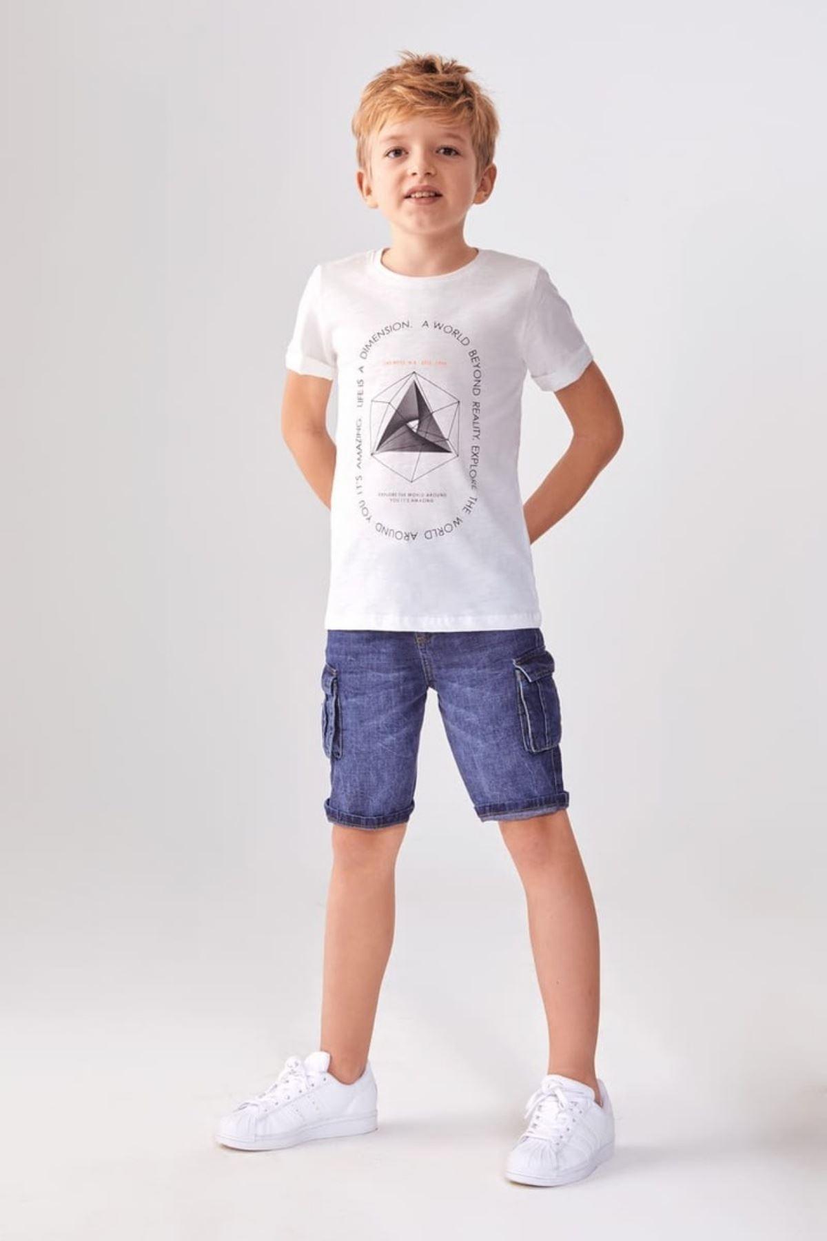 Boyut Erkek Çocuk T-shirt