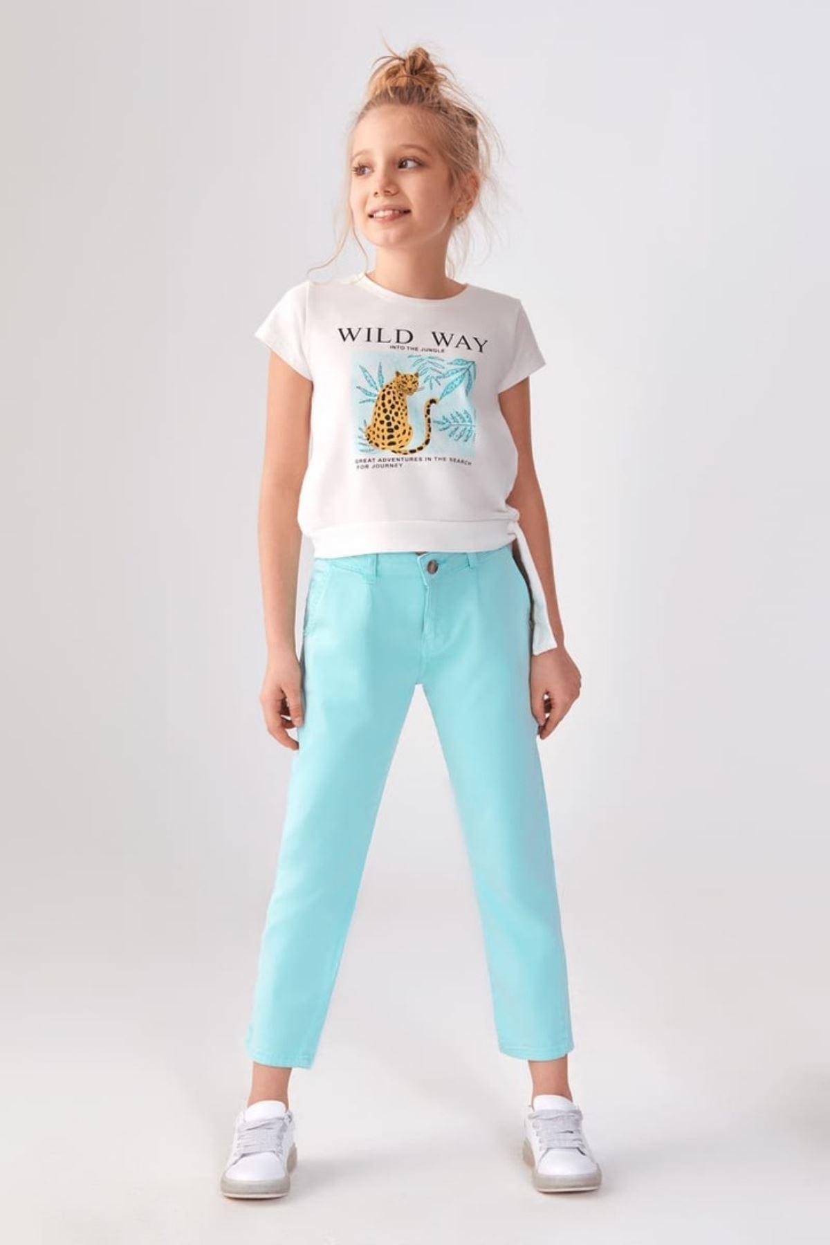 Wild Way Kız Çocuk T-shirt
