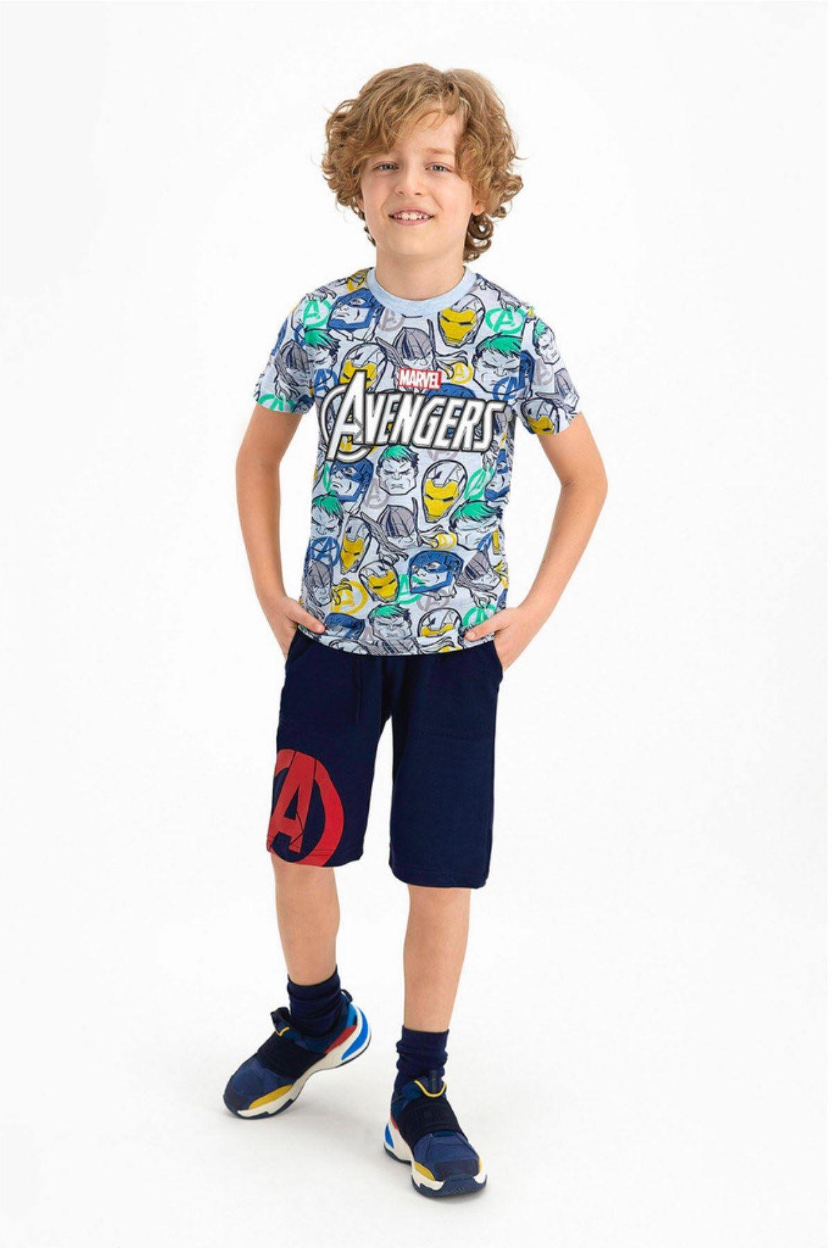 3-9 Yaş Avengers Erkek Çocuk Takım