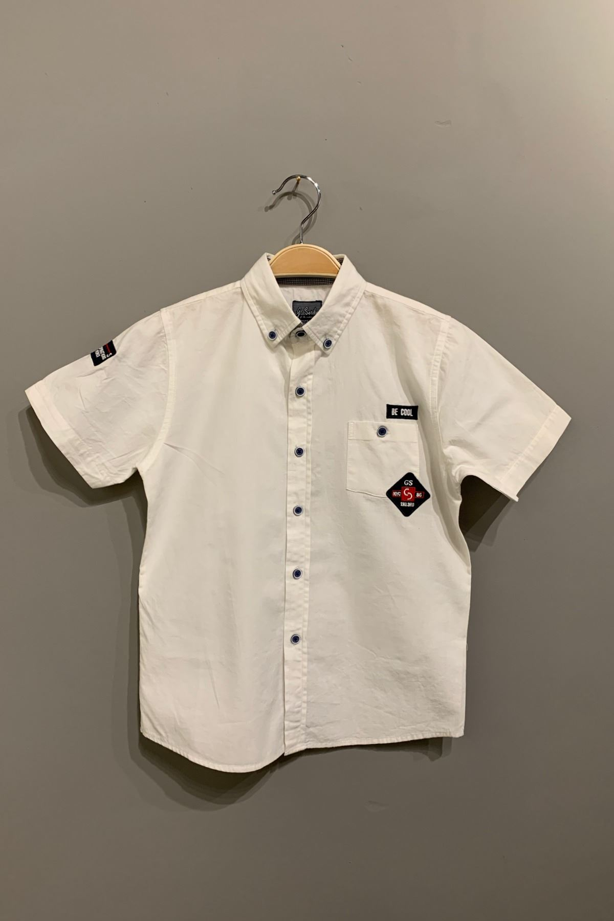 Kısa Kol Erkek Çocuk Gömlek