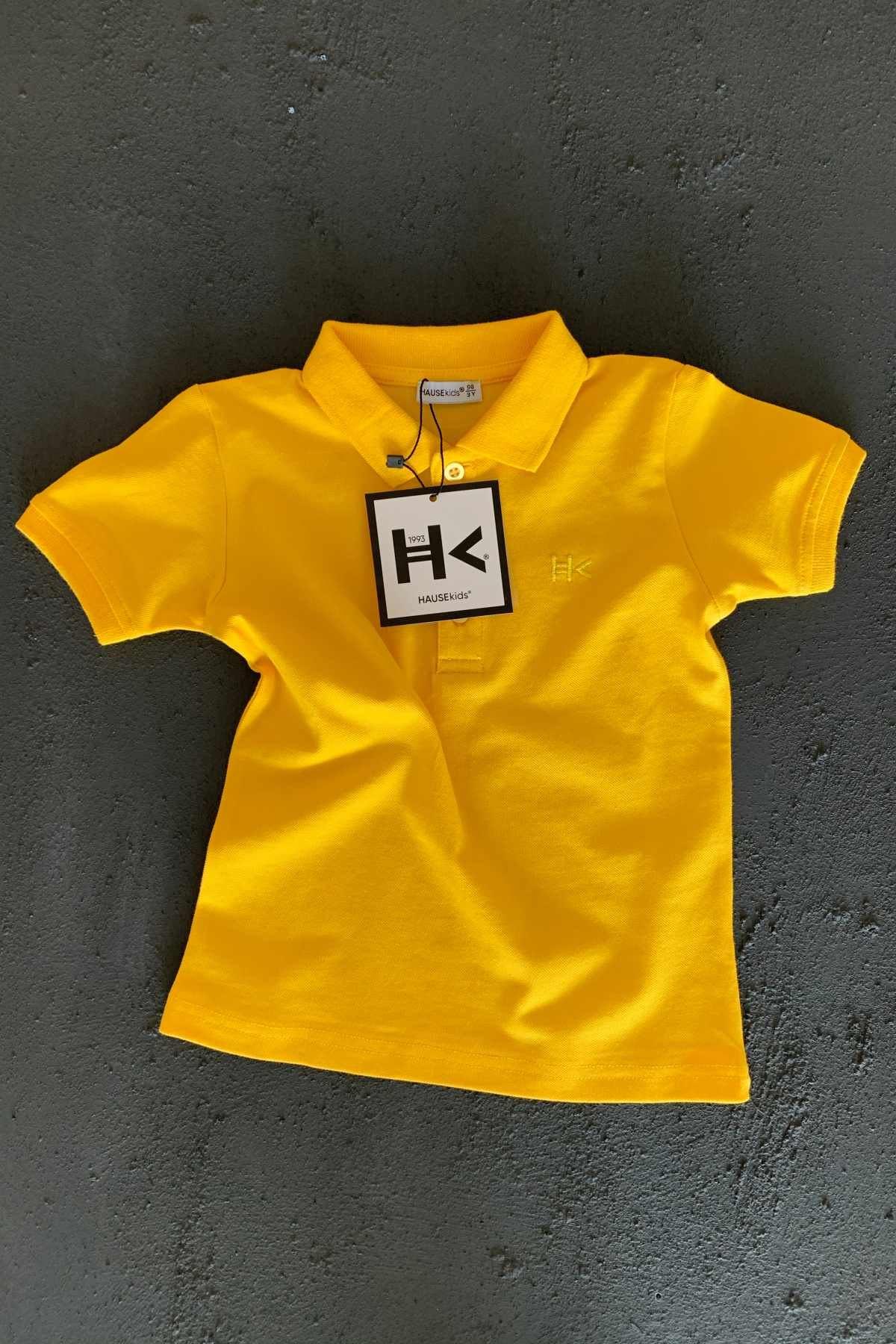 Hk Trend Polo T-shırt - Sarı