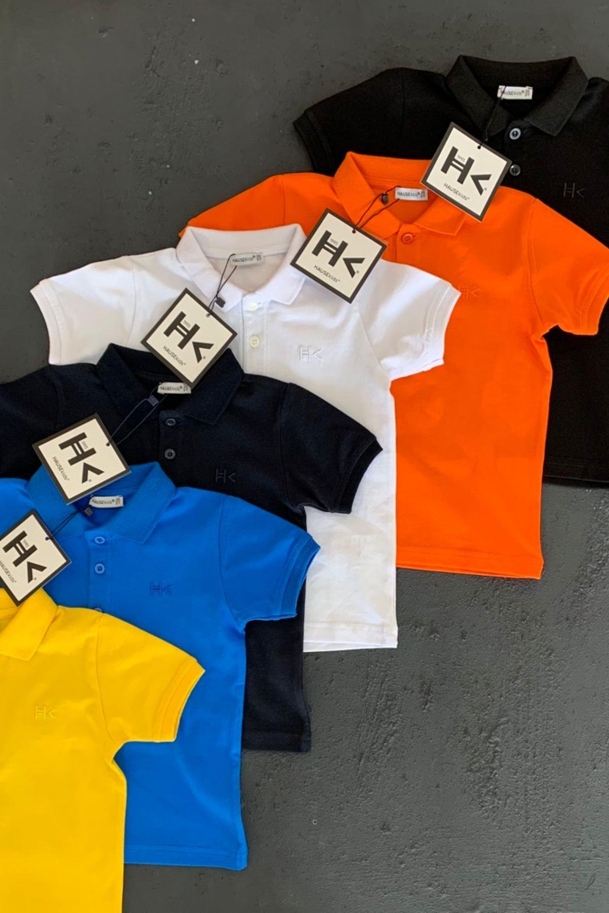 Hk Trend Polo T-shırt - Mavi