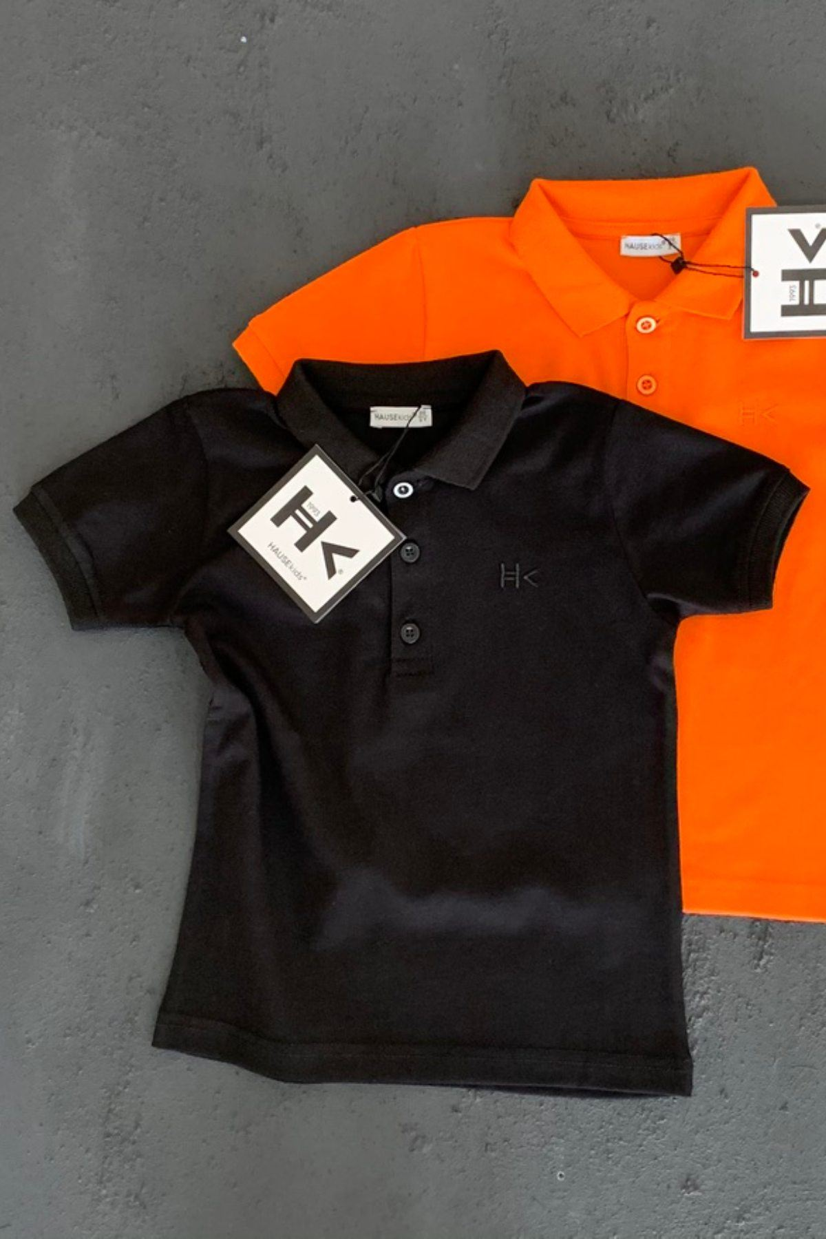 Hk Trend Polo T-shırt - Siyah