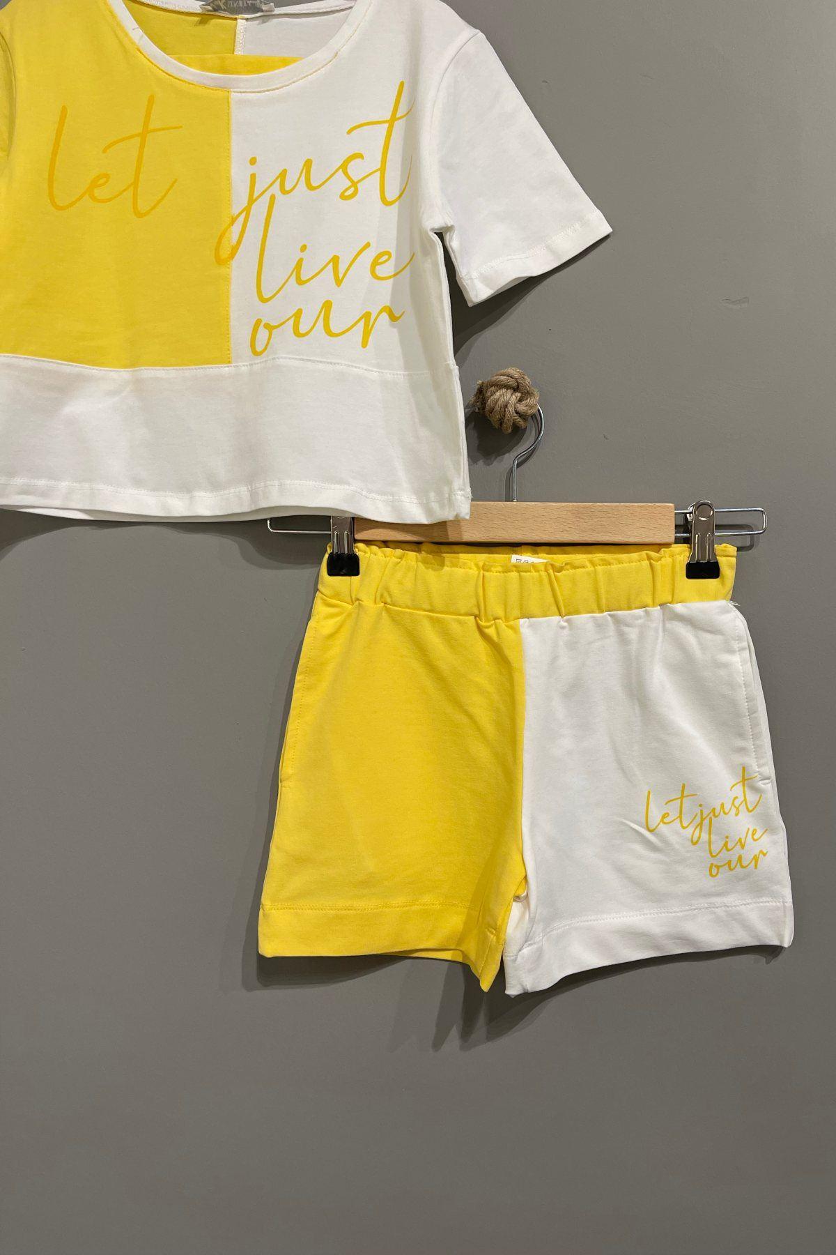 Moda Gardili Takım - Sarı