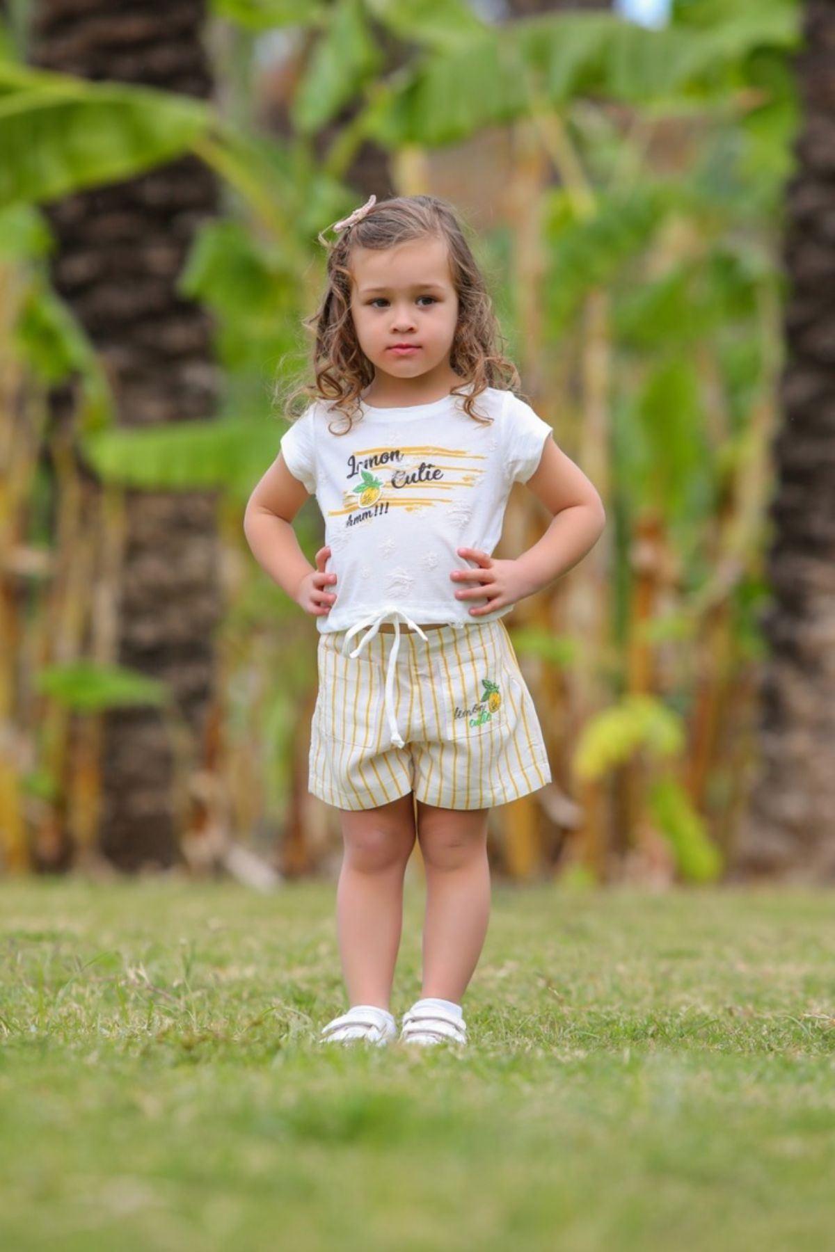 Lemon Cuite Kız Çocuk Takım