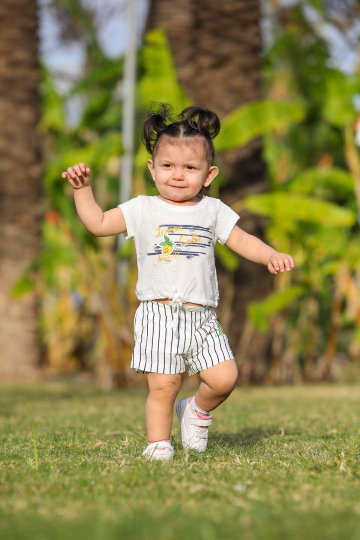 Lemon Cuite Kız Çocuk Takım -Laci