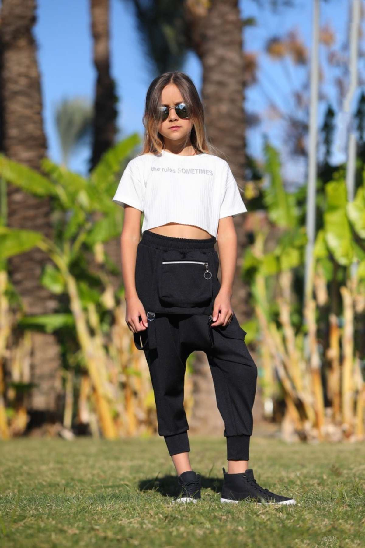 Şalvar Pantolon- Siyah