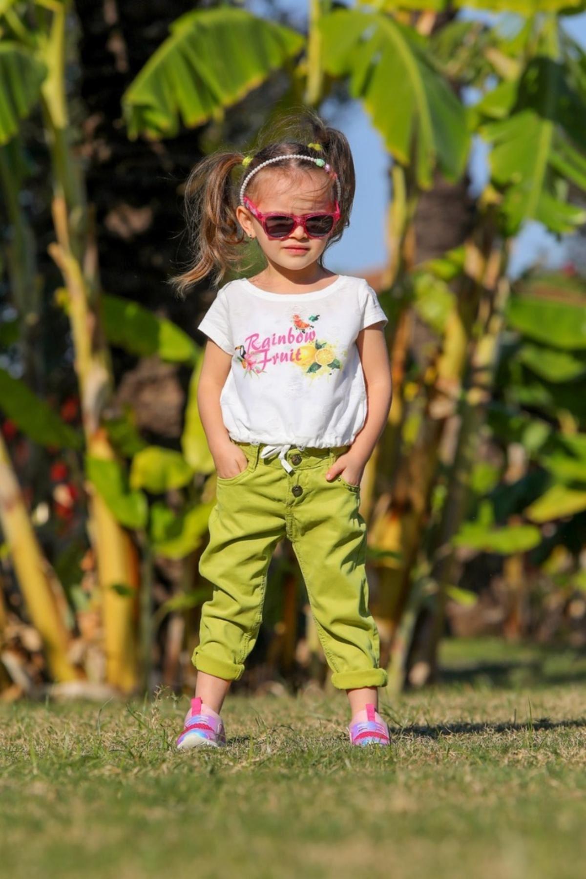 Rainbow Fruit Kız Çocuk Takım