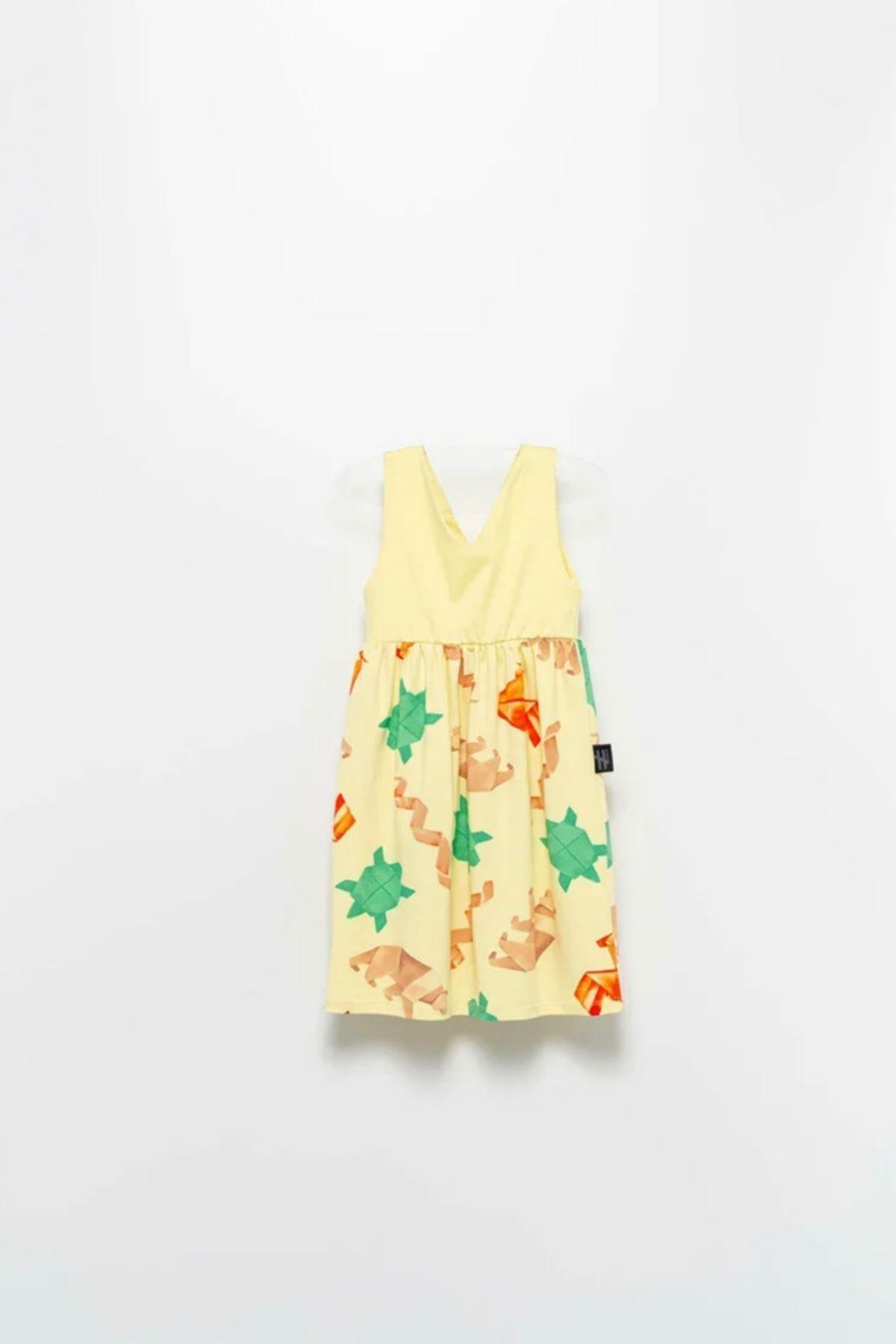 Moi Noi Kız Çocuk Elbise
