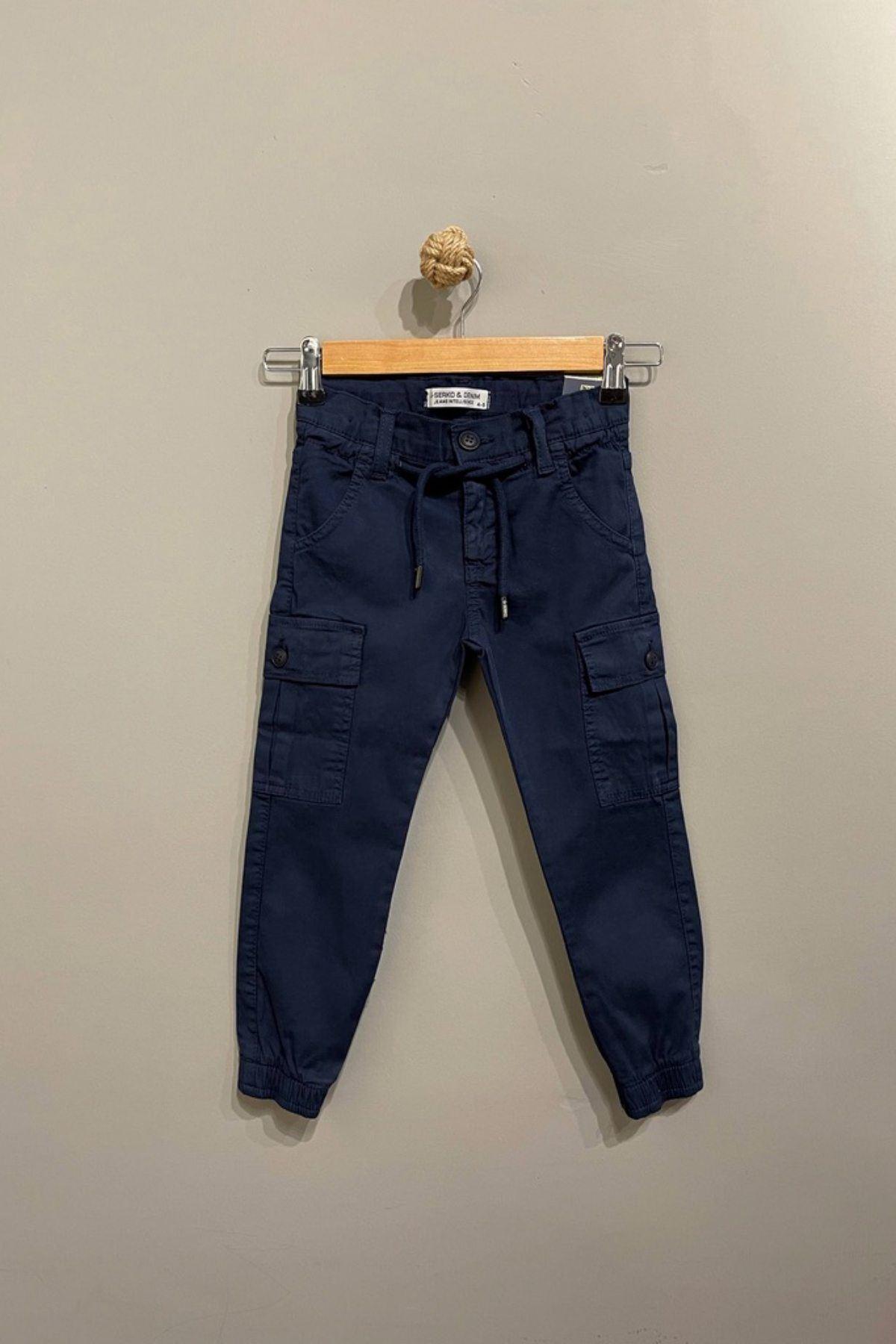 Kargo Cep Detaylı Erkek Çocuk Pantolon- Laci