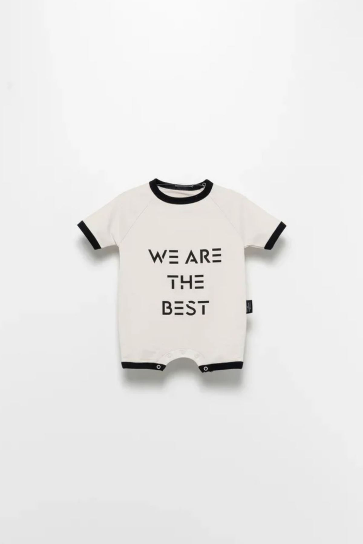 Moi Noi- 3-24 Ay We Are The Best Unisex Şort Tulum