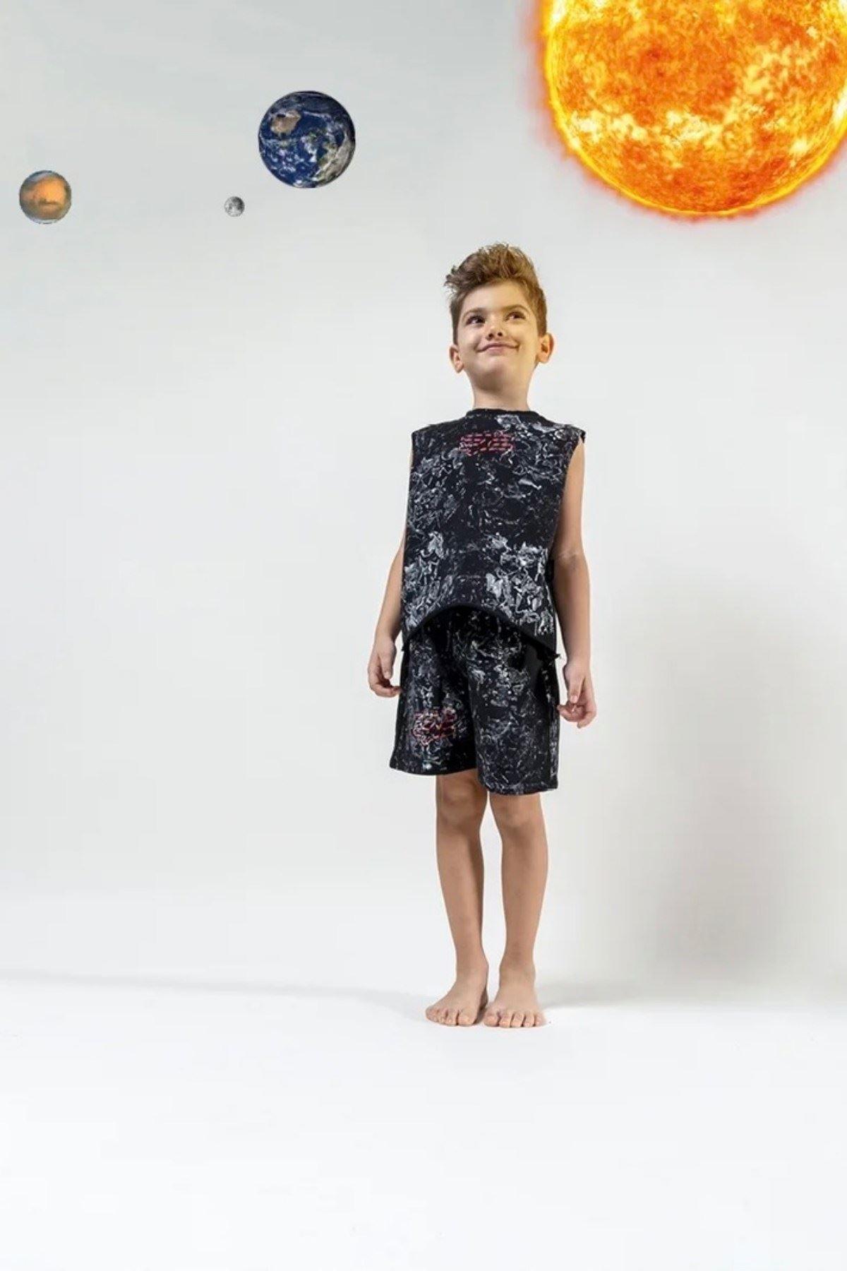 Moi Noi 1-5 Yaş Handmade Erkek Çocuk Takım